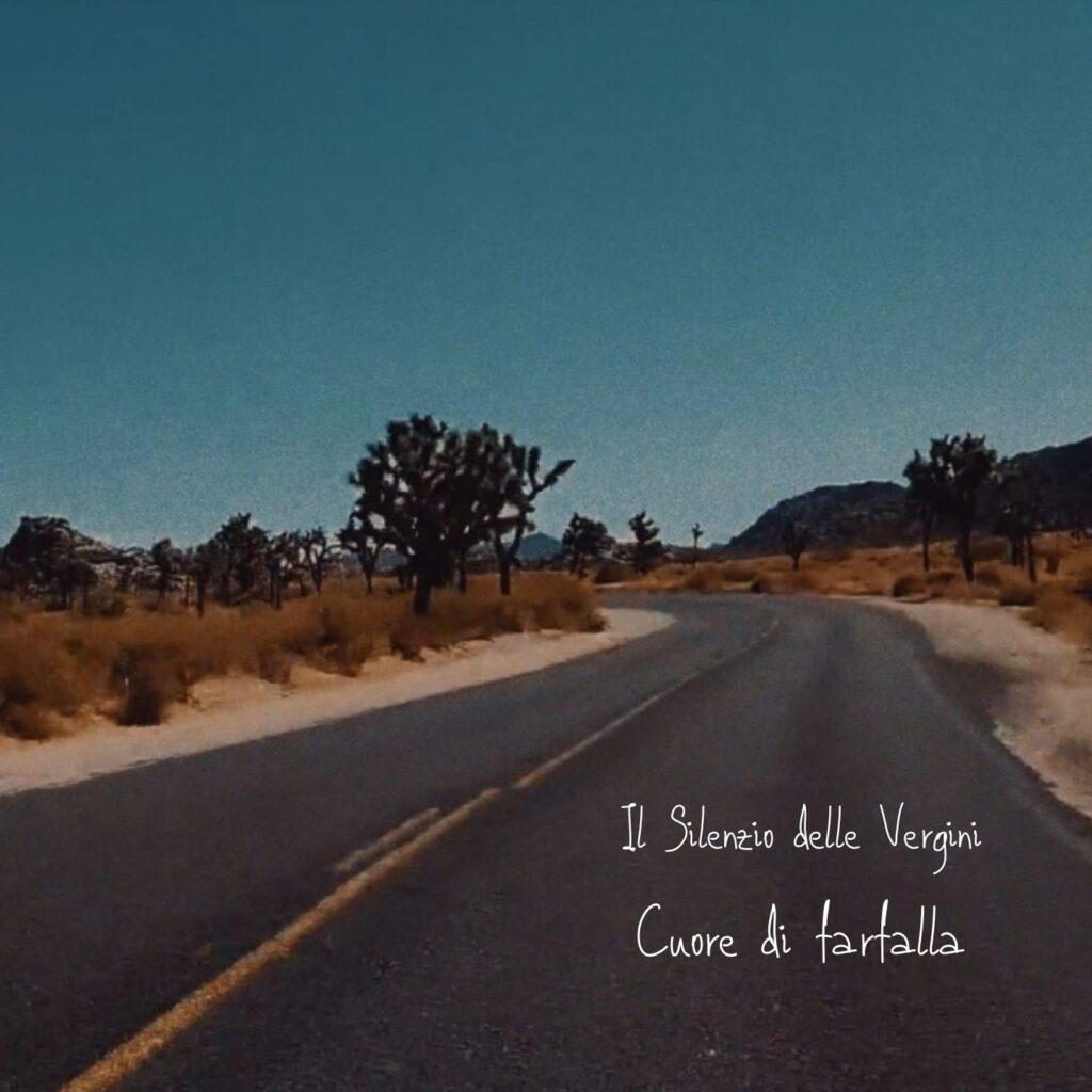 Il silenzio delle vergini copertina singolo-cuore di farfalla produzione Timetrack Factory