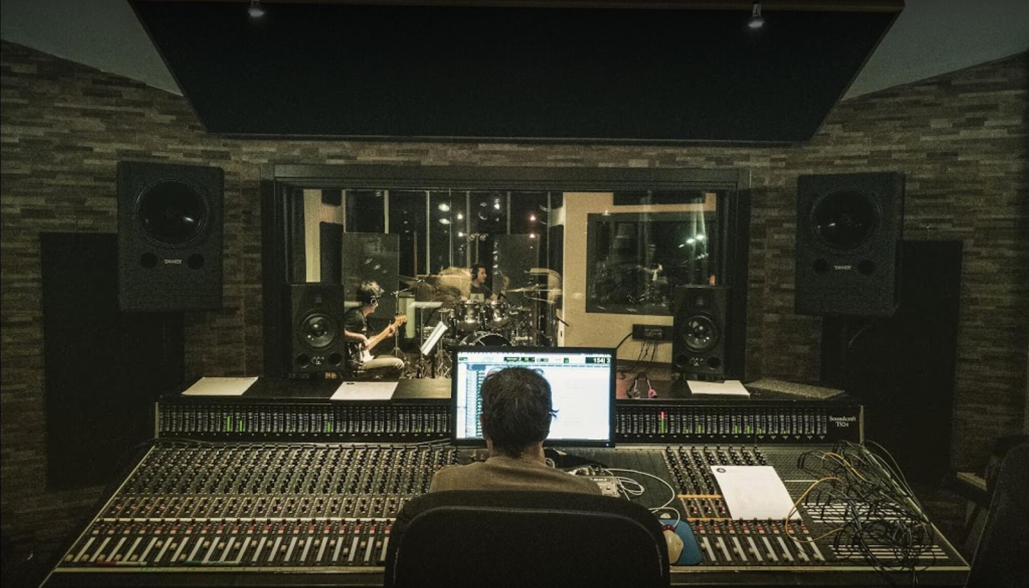 recordings at Timetrack Studios