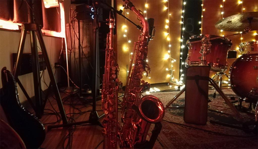 Timetrack Factory studi di registrazione - sax